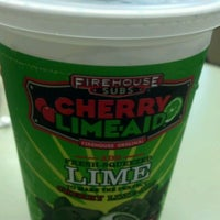 Photo taken at Firehouse Subs by Melissa C. on 4/19/2012