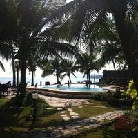 Photo taken at First Villa Resort  Pha-ngan by Tressla on 3/23/2012