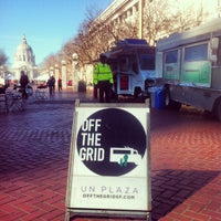 Photo taken at Off the Grid: UN Plaza by Off the Grid on 2/16/2012