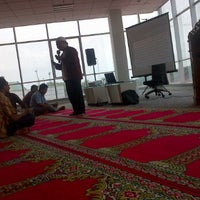 Photo taken at Telkomsel  BSD by Naufal F. on 3/15/2012