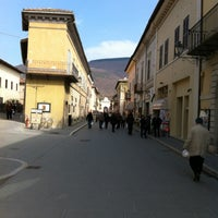 Photo taken at Norcia by Nicola C. on 3/25/2012