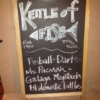 Photo taken at Kettle of Fish by Ray J. on 5/15/2012