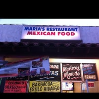 Photo taken at Maria's Mexican Food by F d. on 6/23/2012