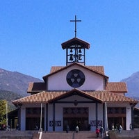 Photo taken at Santuario Santa Teresita de los Andes by Claudio Q. on 8/12/2012