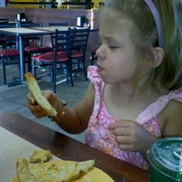 Photo taken at Cicis by Christina B. on 8/4/2012