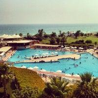 Photo taken at Riu Kaya Belek Hotel by Nükhet A. on 7/25/2012