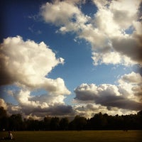 Photo taken at Wandsworth Common by Rob B. on 6/9/2012