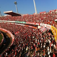 Photo taken at Beira-Rio Stadium by Daniel V. on 5/20/2012