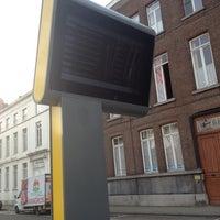 Photo taken at Halte Sint-Jacobsplein by Jeroen L. on 2/22/2012