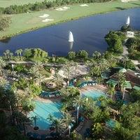 Photo taken at JW Marriott Orlando Grande Lakes by Bradley E. on 7/12/2012