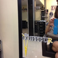 Photo taken at The COIFFEUR by Kim on 9/5/2012