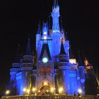 Photo taken at Cinderella Castle by k_t_tallica on 3/29/2012