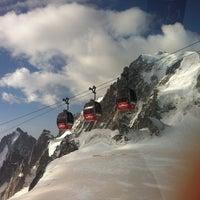 Photo taken at L'Aiguille du Midi (3842m) by jeonghoon k. on 7/27/2012
