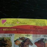 Photo taken at Restoran Te Amor Steak & Steam Boat by Faridz Dahlia on 8/30/2012