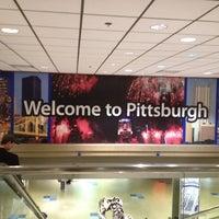 Photo taken at Pittsburgh International Airport (PIT) by Jamie B. on 4/30/2012