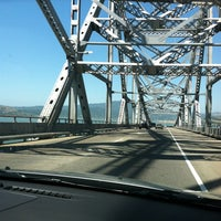 Photo taken at Richmond-San Rafael Bridge by Cindy O. on 5/31/2012