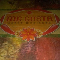 Photo taken at Me Gusta Sabor Mexicano by Michel Fonseca on 4/15/2012