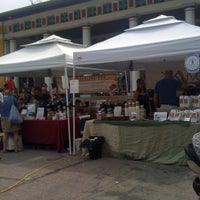 Photo taken at Tower Grove Farmer's Market by Agnes M. on 5/12/2012