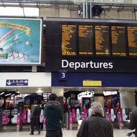 Photo taken at Platform 3 by Kevin W. on 4/3/2012
