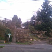 Photo taken at Phinney Ridge P Patch by Elliot M. on 3/1/2012
