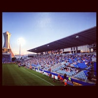 Photo taken at Stade Saputo by La brigade d. on 7/5/2012