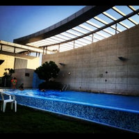 Photo taken at Crescent Rooftop Swimmimg Pool by BeenaColada on 8/30/2012