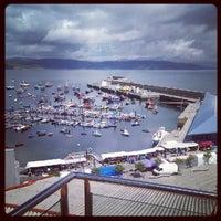 Photo taken at Porto de Fisterra by Ivan L. on 8/5/2012