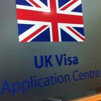 Photo taken at UK Visa Application Centre by ξβαǷǃɿ 💜لون المطر on 8/30/2012