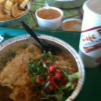 Photo taken at Cafe Rio Mexican Grill by Melissa W. on 4/20/2012