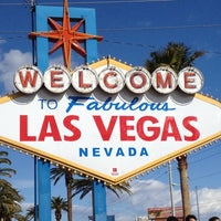Photo taken at Welcome To Fabulous Las Vegas Sign by Mark W. on 2/19/2012