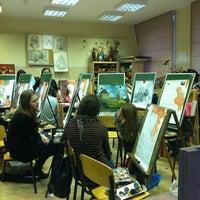 Снимок сделан в Детская Художественая Школа им. Стожарова №2 пользователем Polina L. 3/20/2012