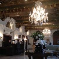Photo taken at The St. Regis Washington, D.C. by Cynthia D. on 6/1/2012