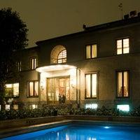 Photo taken at Villa Necchi Campiglio by Filippo C. on 5/4/2012