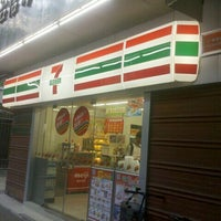 Photo taken at 7-Eleven 7-11便利店(晓港中马路店) by Sean W. on 8/6/2012