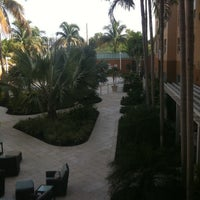 Photo taken at Courtyard by Marriott Miami Aventura Mall by Sibele T. on 7/26/2012
