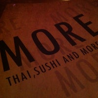 Photo taken at More Thai by Will S. on 9/2/2012