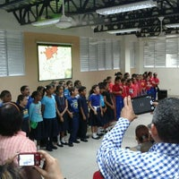 Photo taken at Colegio Evangélico Bautista by Nagaca G. on 4/27/2012