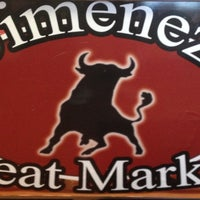 Photo taken at Jimenez Meats by Robert J. on 5/2/2012