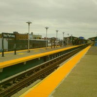 Photo taken at MTA Subway - Bay Parkway (D) by Wilfredo C. on 3/2/2012