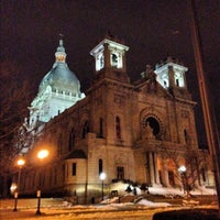 Photo taken at Basilica of Saint Mary by Dan K. on 2/26/2012
