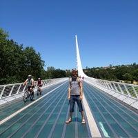 Photo taken at Sundial Bridge by 👣Jared Norman👣 on 6/6/2012