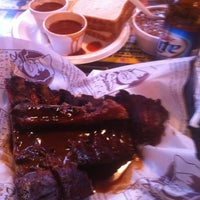 Photo taken at Dreamland Bar-B-Que Ribs by Matthew H. on 2/24/2012