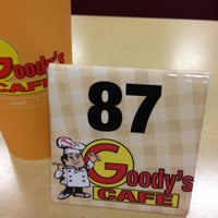 Photo taken at Goody's Cafe by Billy B. on 4/14/2012