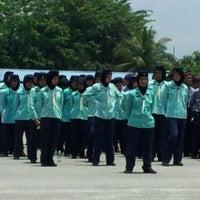 Photo taken at Pusat Latihan Kor Polis Tentera Diraja (PULAPOT) by Arolzmn M. on 4/4/2012
