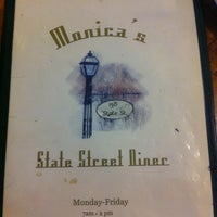 Photo taken at Monica's State St. Diner by Zac G. on 7/2/2012
