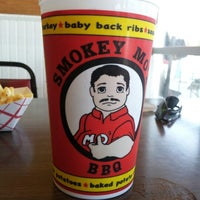 Photo taken at Smokey Mo's BBQ by Phillip F. on 9/7/2012