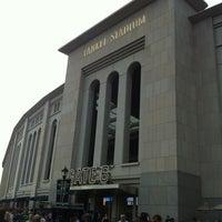 Photo taken at Hard Rock Cafe Yankee Stadium by Karina A. on 7/31/2012