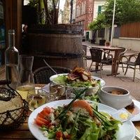 Photo taken at La Maison by Julia B. on 7/2/2012