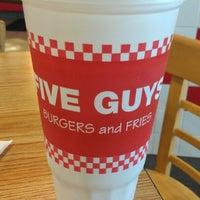 Photo taken at Five Guys by Joseph M. on 4/26/2012