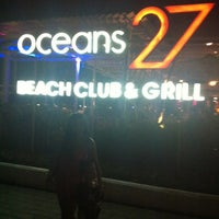 Photo taken at Oceans27 Beach Club & Grill by Putry R. on 2/29/2012